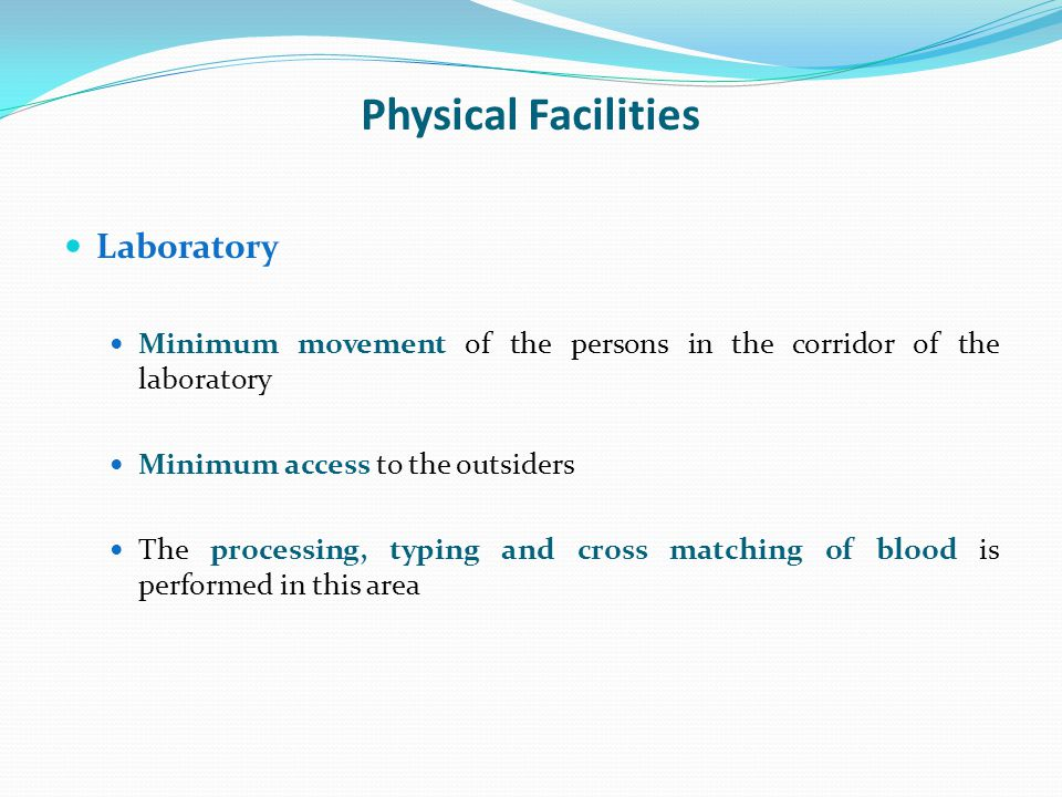 Physical Facilities Laboratory