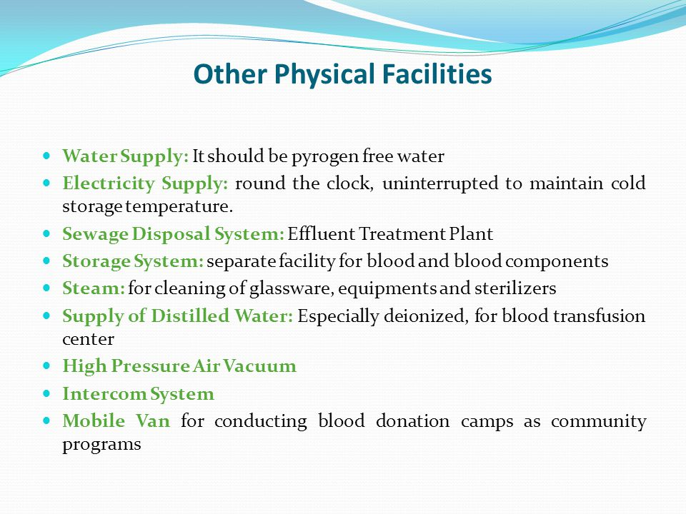 Other Physical Facilities