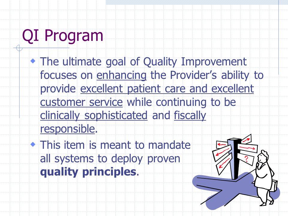 QI Program