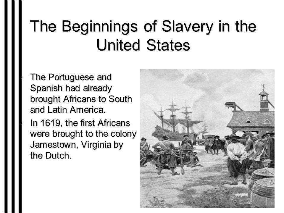 the influence of slavery on the united states Democracy in america study guide contains a activity prevailing in all parts of the political body in the united states the influence thereby the presence of blacks is the greatest danger threatening the united states abolishing slavery will be extremely difficult because they will.