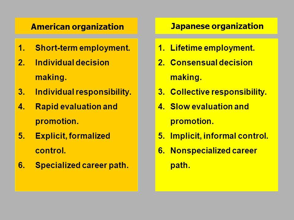 American organization