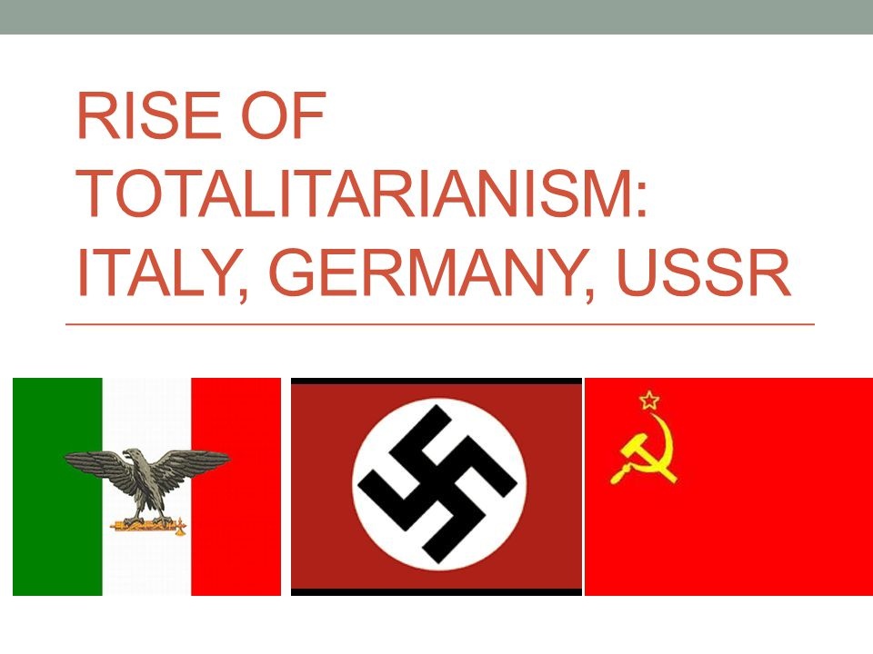 characteristics of totalitarianism Linz distinguished new forms of authoritarianism from personalistic dictatorships and totalitarian states, taking francoist spain as an example unlike personalistic dictatorships, new forms of authoritarianism have institutionalized representation of a variety of actors (in spain's case, including the military, the catholic church, falange.