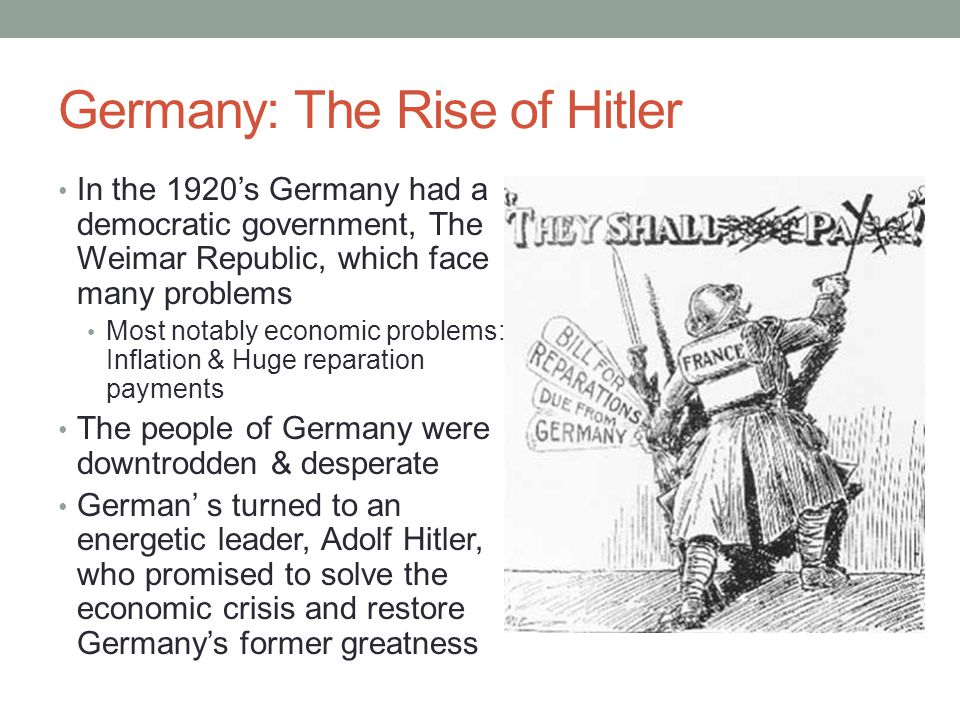 monetary crisis in germany and hitlers rise to power Hitler's monetary system  japan's present rise in science and technology might  five years before hitler seized power, germany passed the law on firearms.