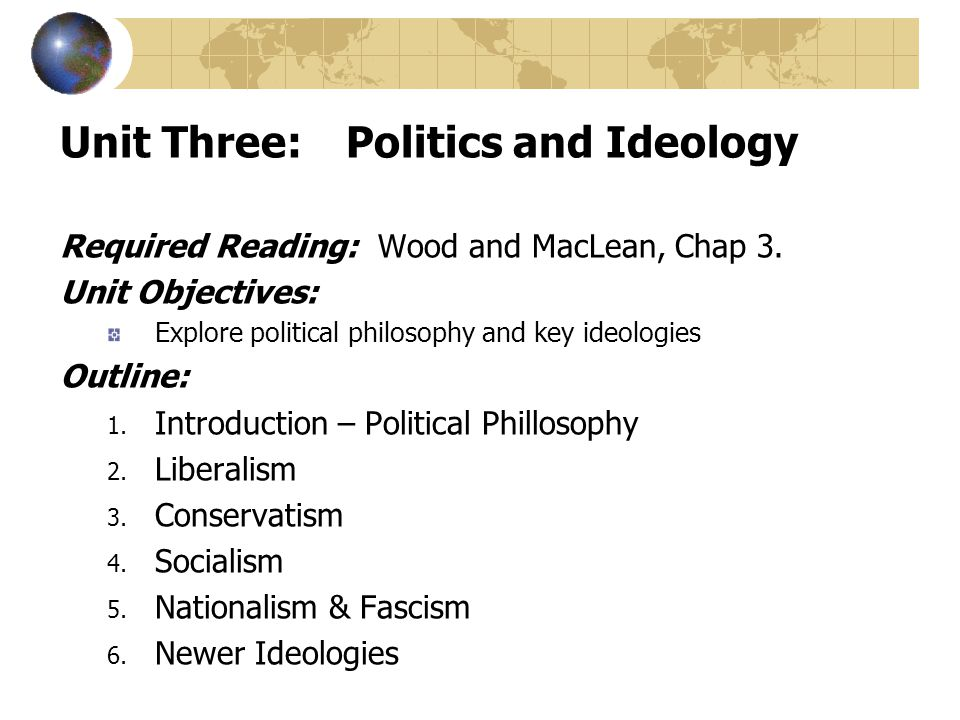 the difference between political theory and political ideology Differences in negativity bias underlie variations in political ideology john r  hibbing  abstract: disputes between those holding differing political views are  ubiquitous and  theory at least – could help to explain the longitudinal stab.
