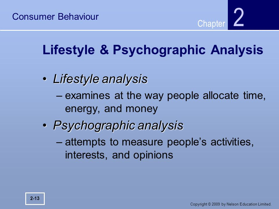 lifestyle consumer behavior Role of family in consumer behaviour no two individuals have same buying preferences the buying tendencies of individuals vary as per their age, need, income, lifestyle, geographical location, willingness to spend, family status and so on.