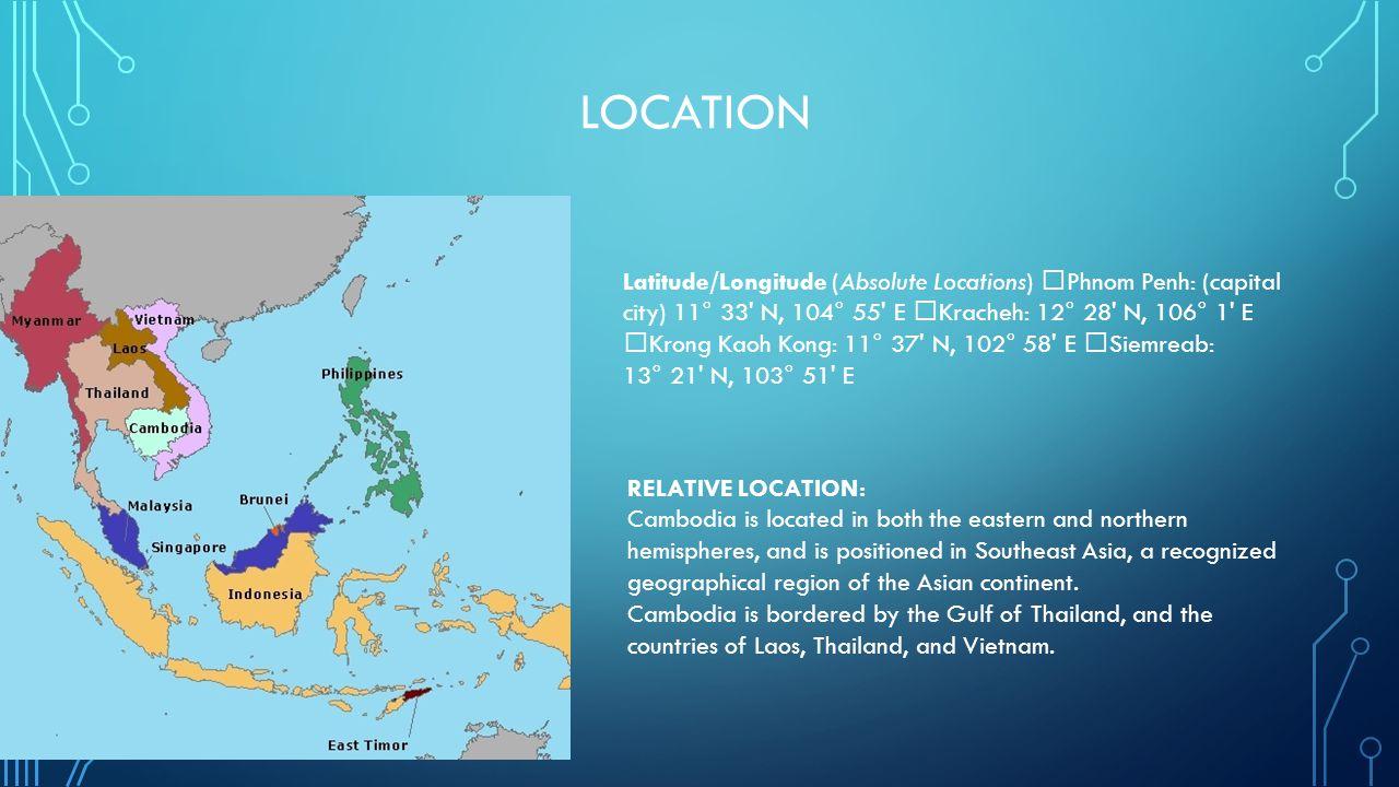 Cambodia Making Dreams Come True Ppt Download - Longitude and latitude of vietnam