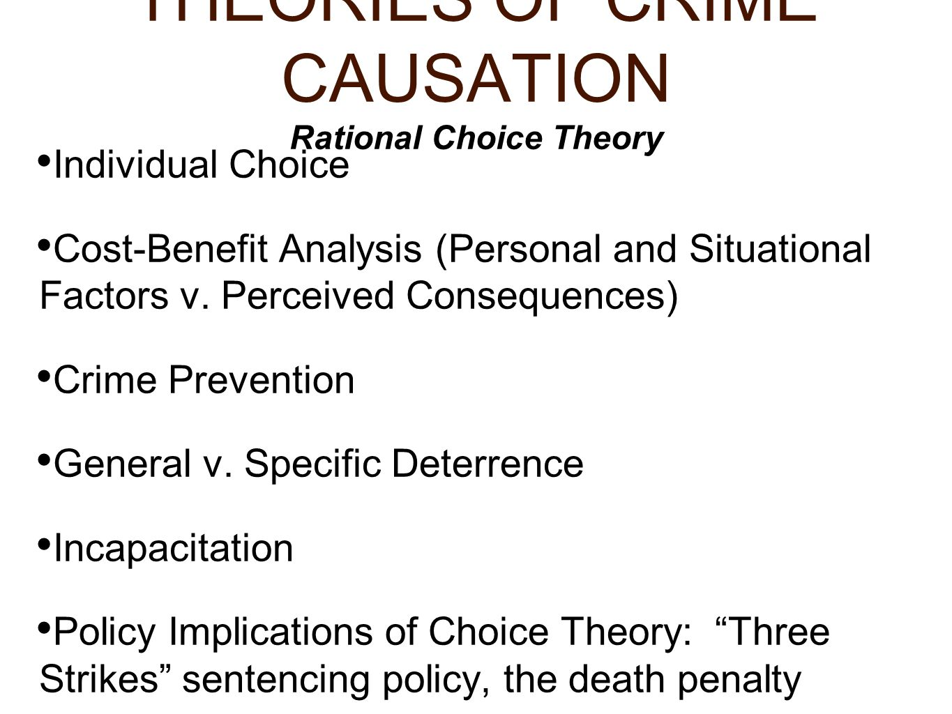 theories of rational thinking Rational choice: positive, normative, and interpretive sun-ki chai abstract: among most economists, political scientists, and sociologists, it is taken supportive survey of the role of rational choice in sociological theory, hechter and.