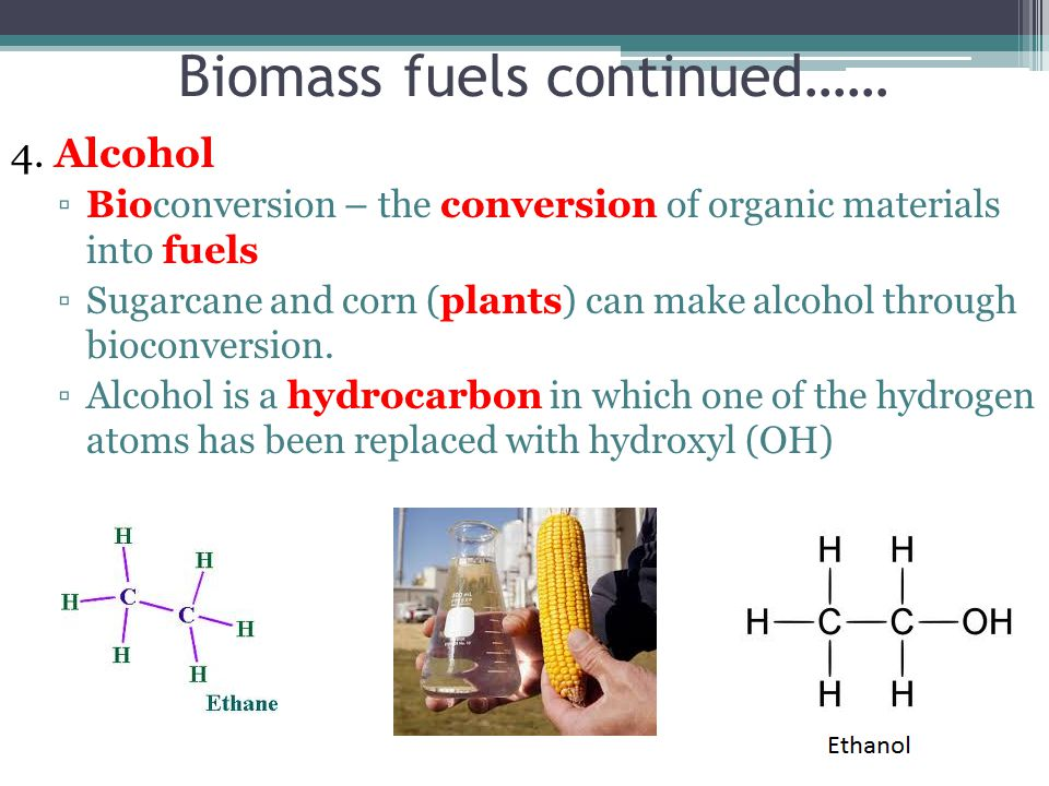 Biomass Bioconversion To Mixed Alcohol Fuels ~ Chapter fossil fuels ppt video online download