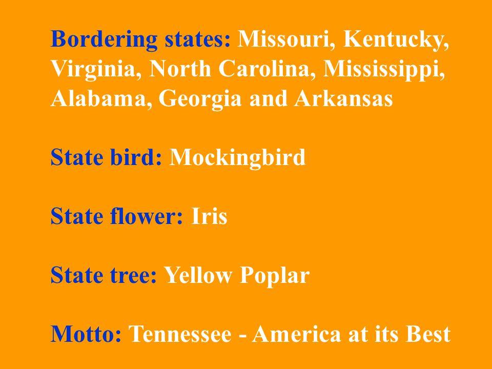Bordering states: Missouri, Kentucky,