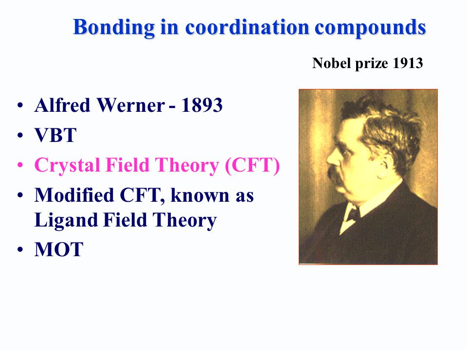 alfred werner's coordination theory Coordination chemistry reviews 11 (1973)161-188 elsevier scientific publishing company, amsterdam printed in the netherlands alfred werner's research on structural isomerism georgeb kauffman california state university.