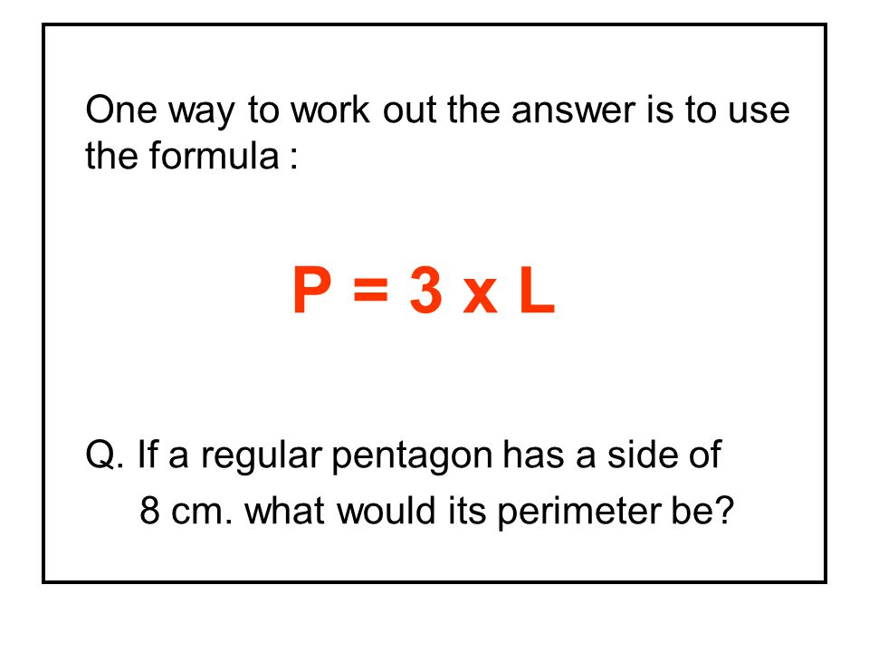One way to work out the answer is to use the formula :