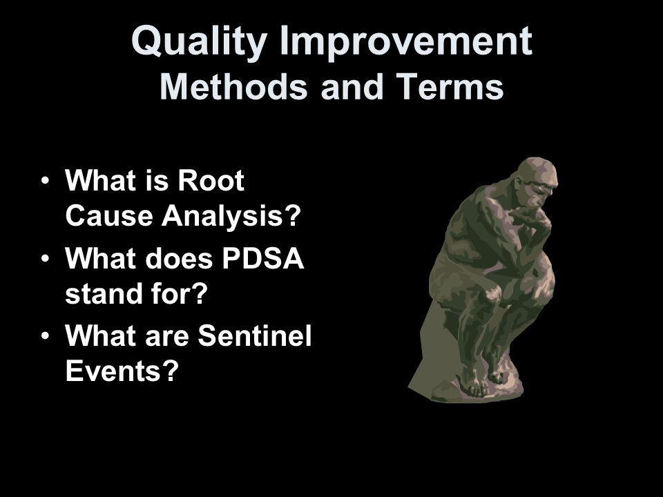 root cause analysis due to sentinel Adverse events, including sentinel events, require comprehensive review to improve patient safety and reduce healthcare errors root cause analysis (rca) provides an.