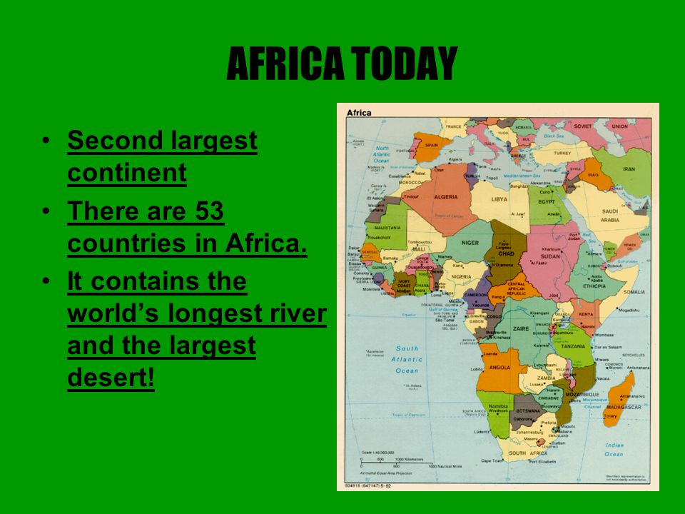 What Is Africa A Country A Continent A State Ppt Video - The world's second longest river is on what continent