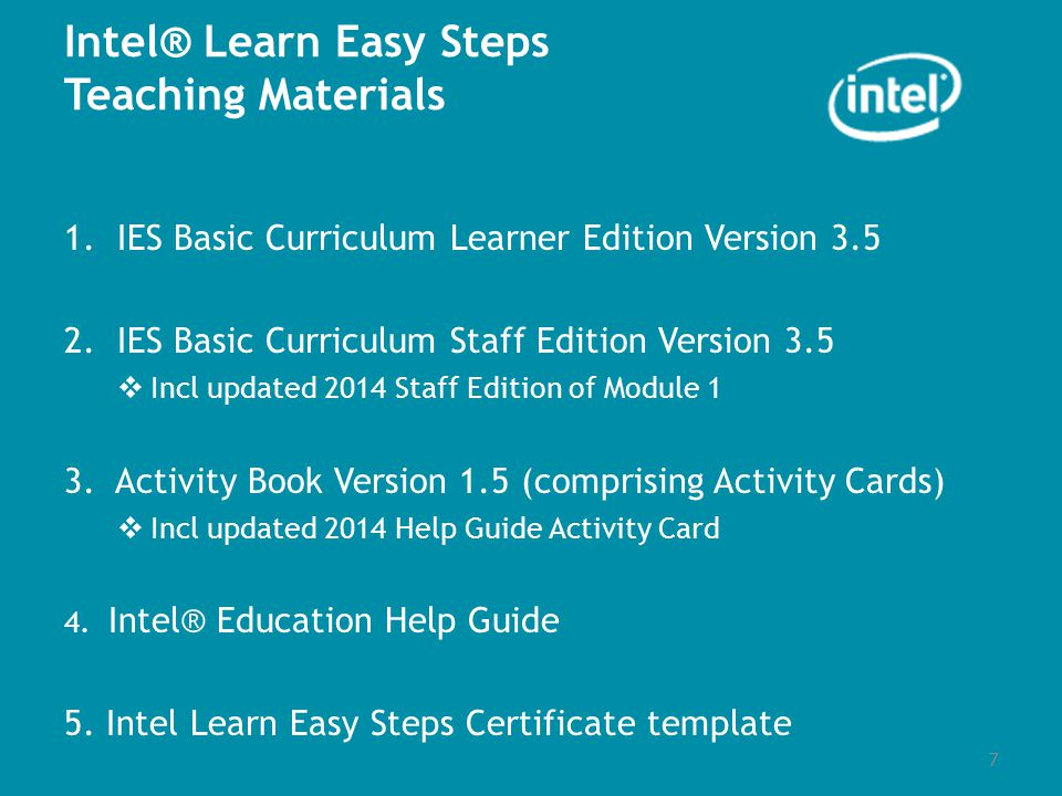 Intel learn easy steps course ppt video online download 7 intel yelopaper Gallery