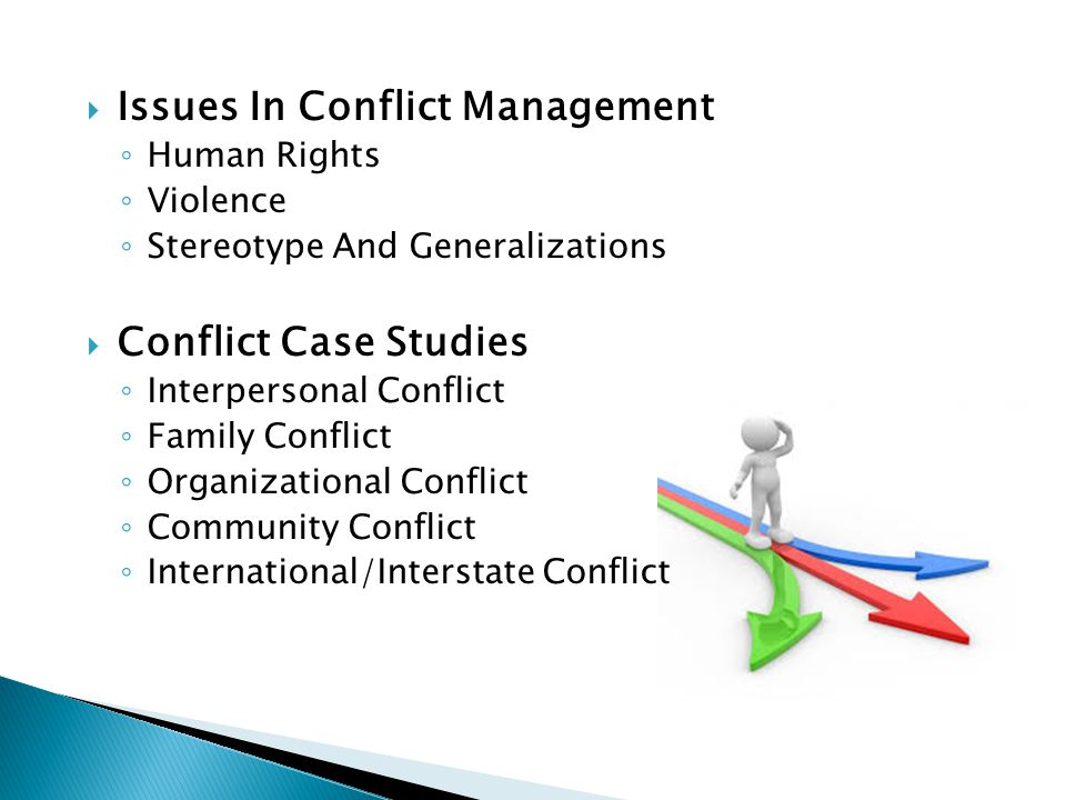 conflict case studies in interpersonal communication Case studies for conflict resolution: a key element in civil rights training wisconsin wic 1 conflict resolution: case studies the following case studies match the scenarios in the online training.