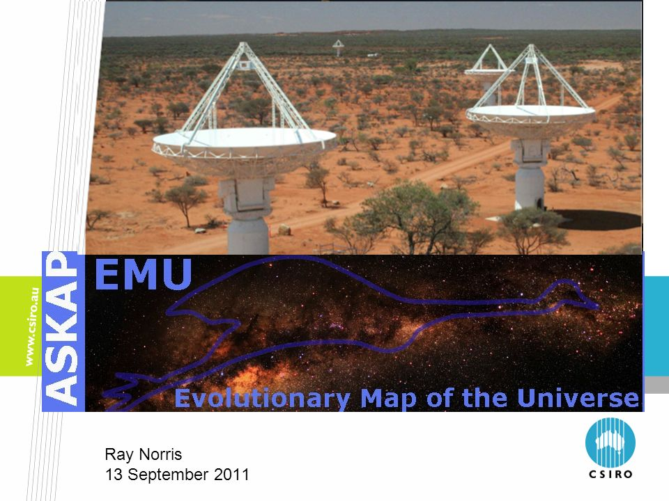 EMU: Evolutionary Map of the Universe