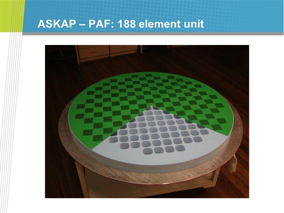ASKAP – PAF: 188 element unit