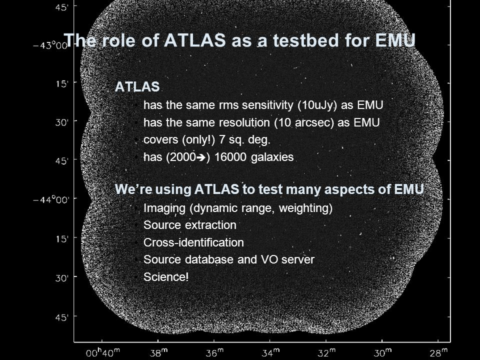 The role of ATLAS as a testbed for EMU