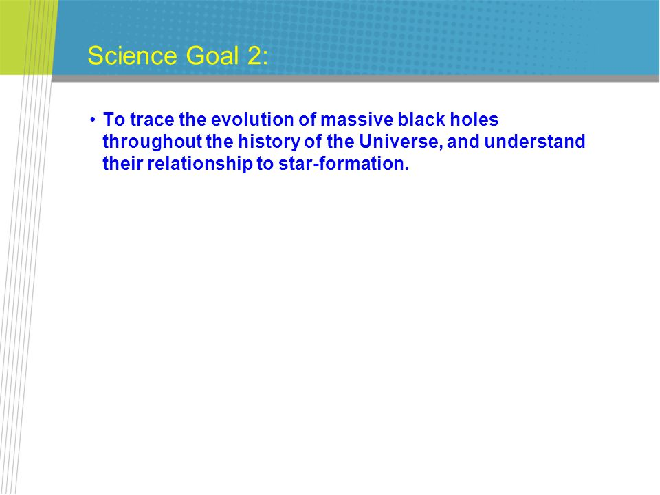 Science Goal 2: