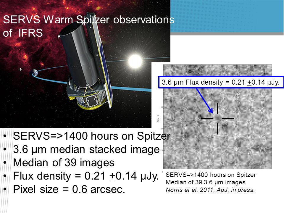 SERVS Warm Spitzer observations of IFRS