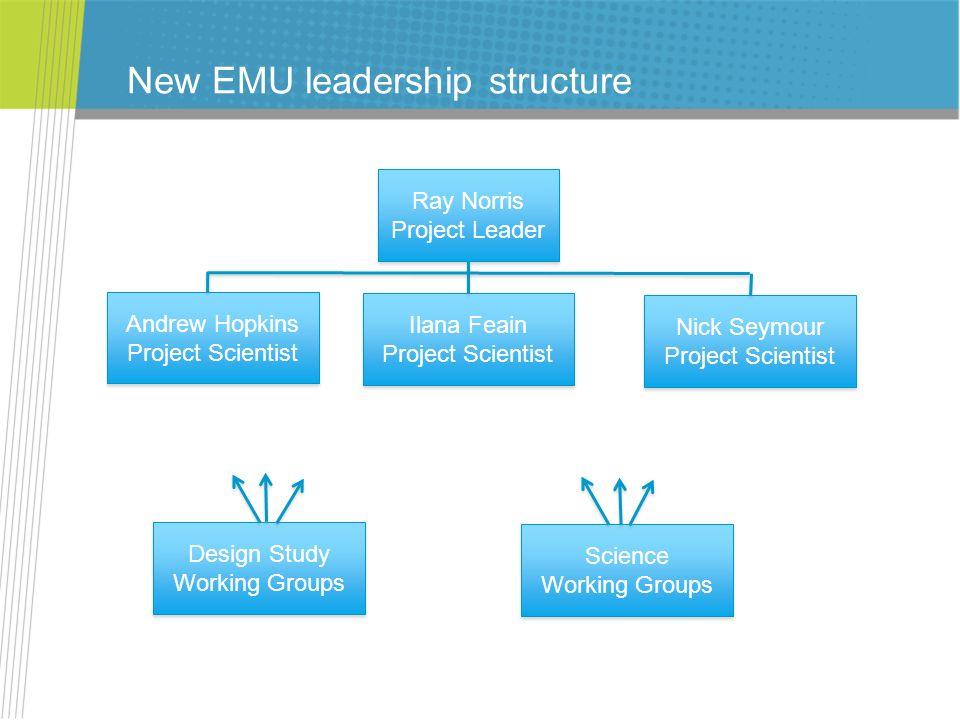 New EMU leadership structure