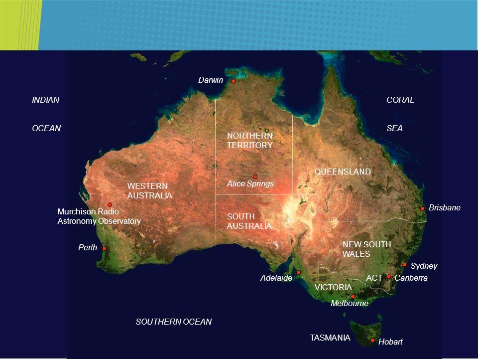 Perth Sydney. Brisbane. Melbourne. Adelaide. Darwin. Alice Springs. WESTERN AUSTRALIA. NORTHERN TERRITORY.