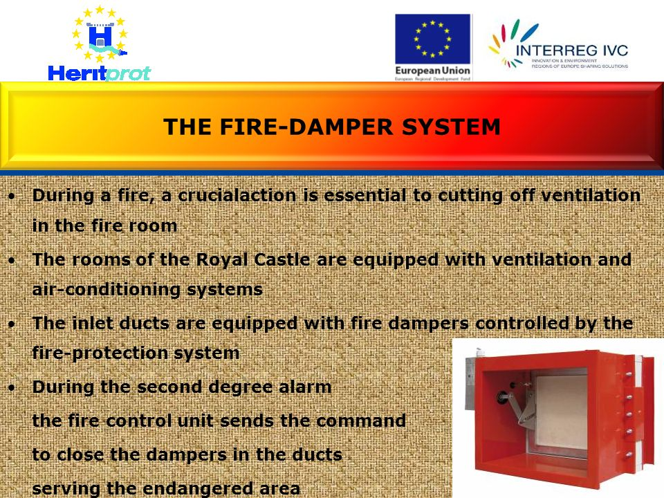 THE FIRE-DAMPER SYSTEM
