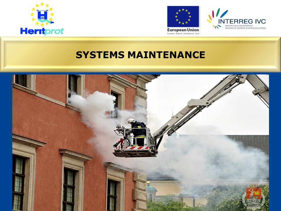 SYSTEMS MAINTENANCE