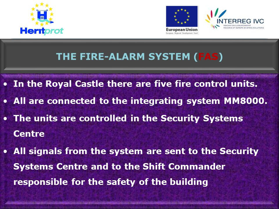 THE FIRE-ALARM SYSTEM (FAS)