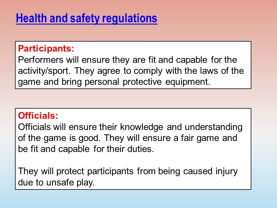 health and safety regulations Legislation is available in different versions: latest available (revised):the latest available updated version of the legislation incorporating changes made by.