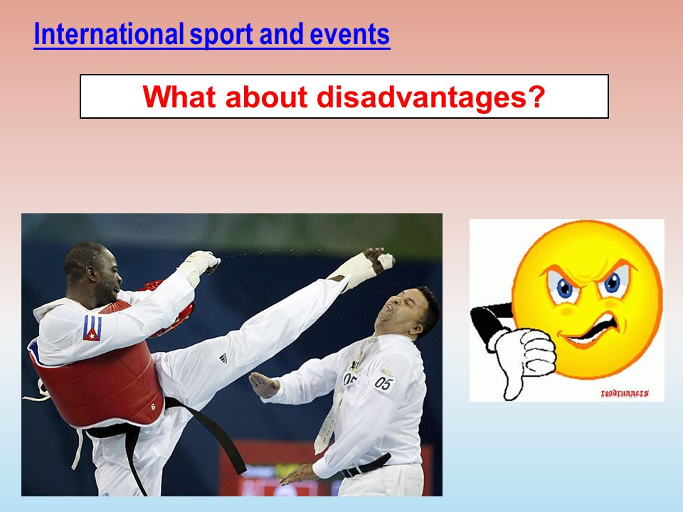 Disadvantages of sport tourism