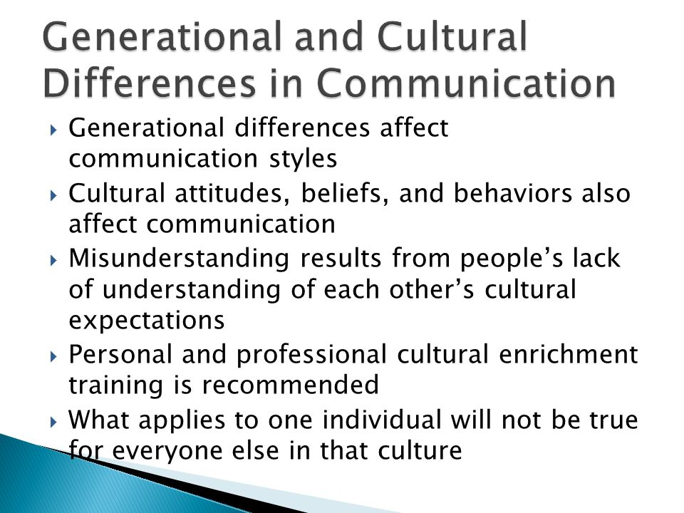 differences in the communication style of