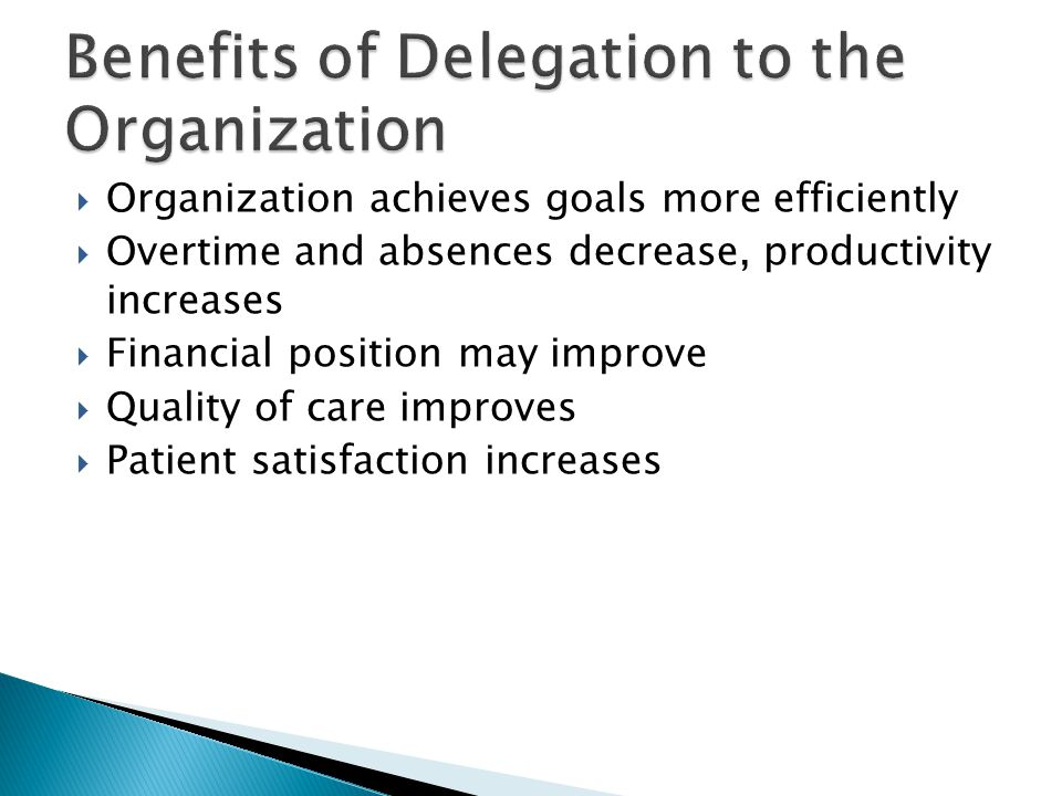 disadvantage of delegation [delegated legislation - advantages and disadvantages] sub-delegation of powers a further problem (although not for eu statutory instruments).