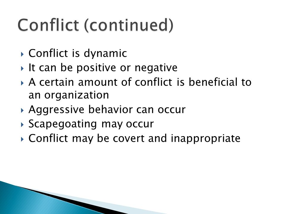 covert conflict behavior Start studying chapter 11 characterized by the overt or covert behavior to bring out the conflict people who exist this type of conflict behavior.