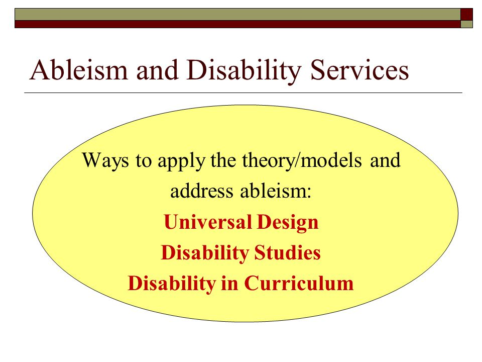models of disability studies Disability studies is an academic discipline that examines the meaning,  a program in disability studies should explore models and theories that examine social,.