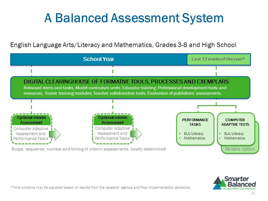 A Balanced Assessment System