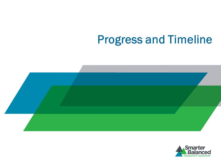 Progress and Timeline