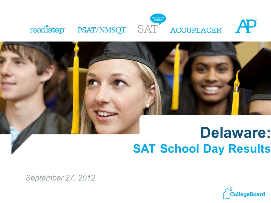 Delaware: SAT School Day Results