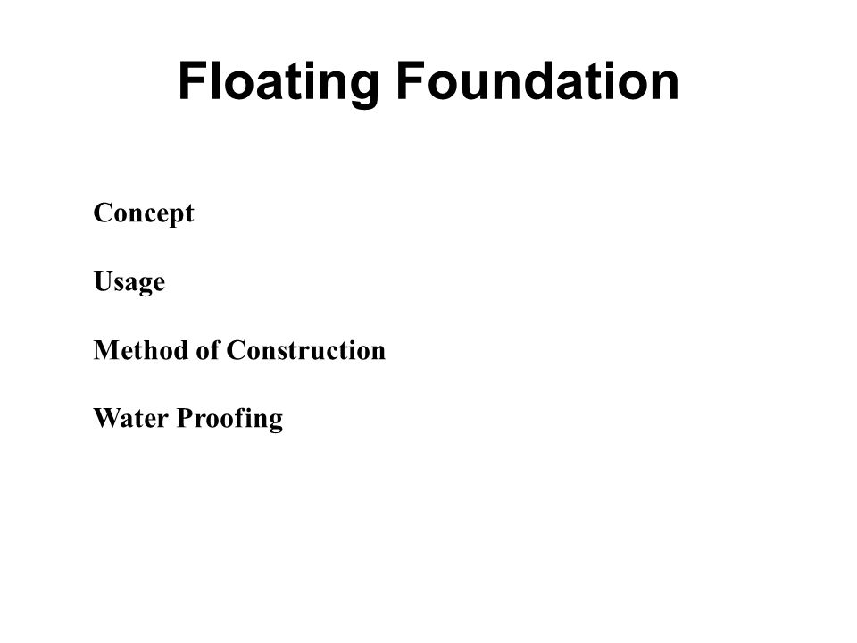 Topic 2 types of foundation ppt video online download - Type of foundation concept ...
