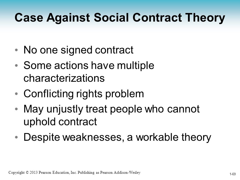Case Against Social Contract Theory