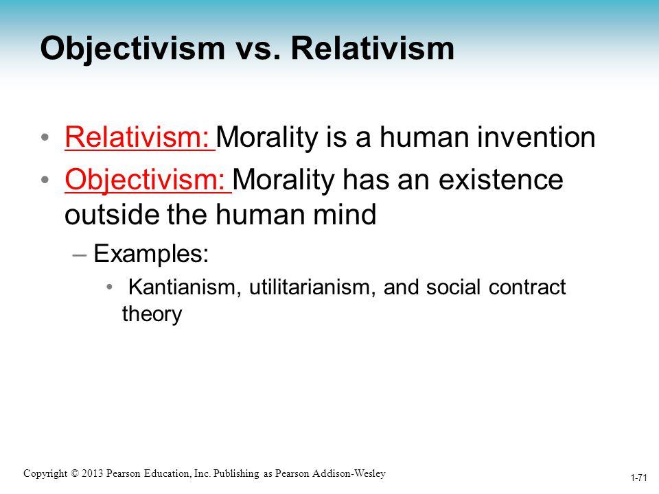 Objectivism vs. Relativism
