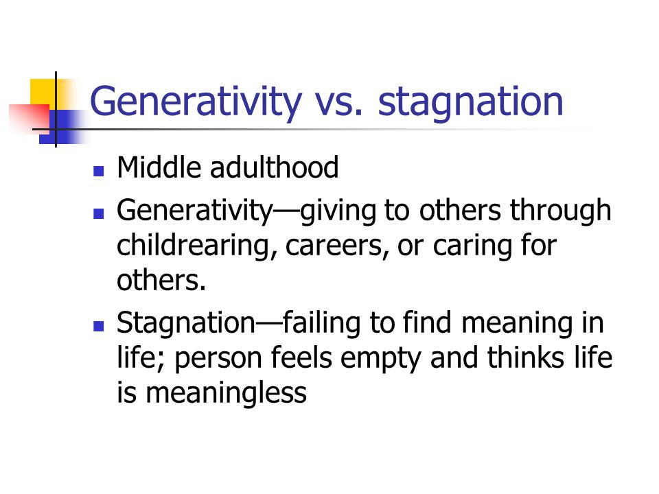 stagnation definition pädagogik