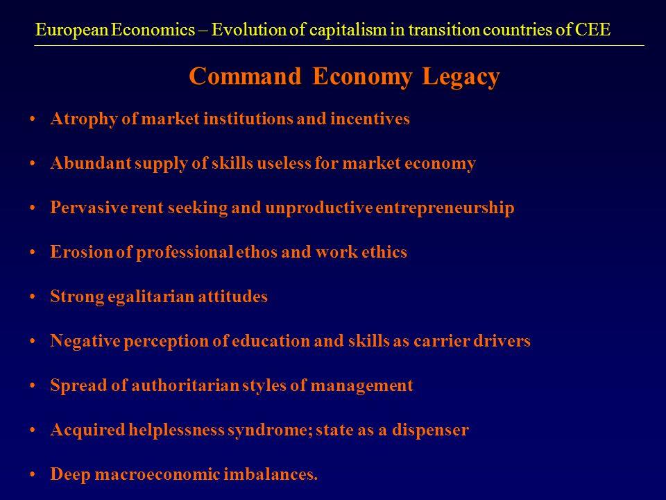 Command Economy Legacy