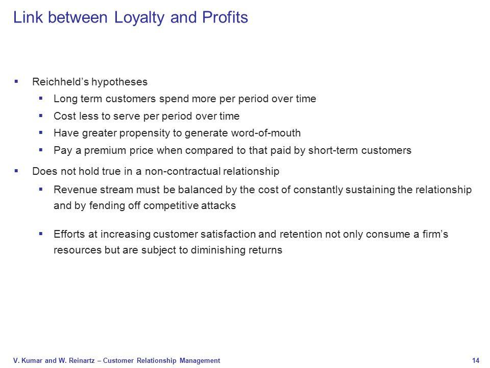 relationship between customer satisfaction and customer loyalty pdf