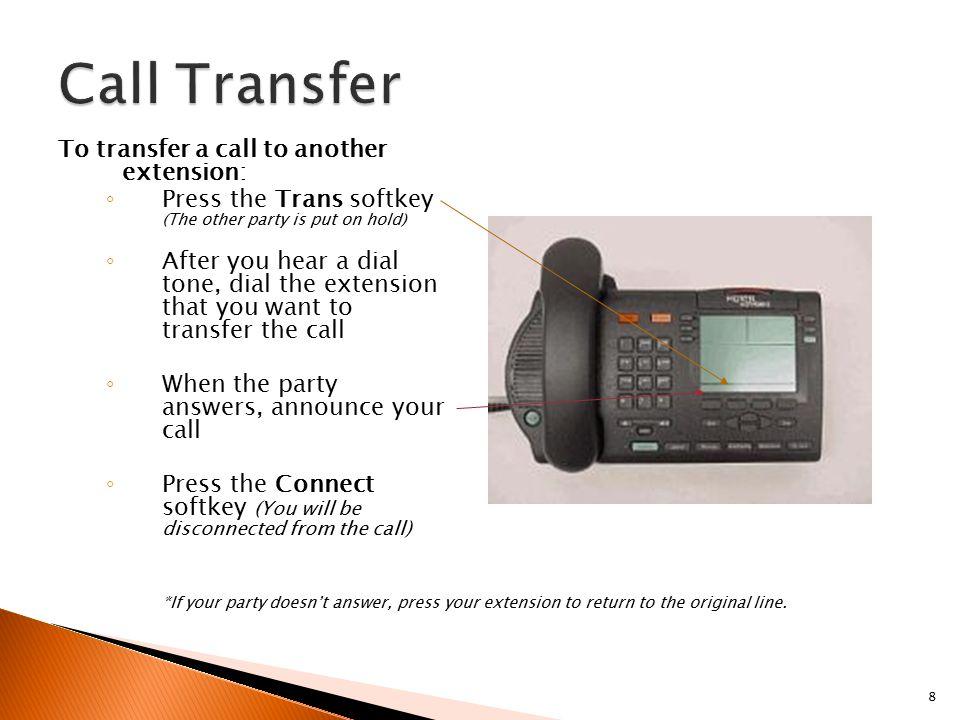 transfer call