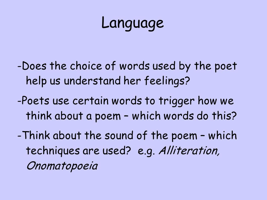 mirror by sylvia plath who is the narrator of this poem ppt  9 language