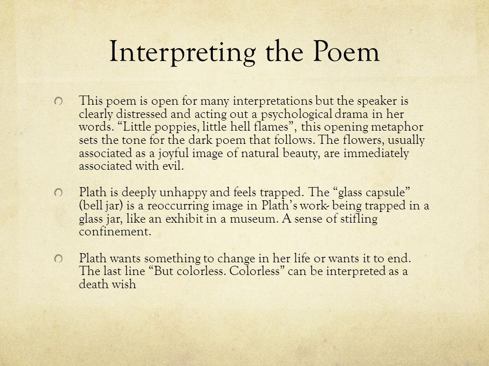 plath's work is intense deeply personal Reflecting upon the poetic achievement of sylvia plath in the last of his 1986 t s   impersonality is that of the poet who, out of intense and personal experience,   on the one hand, she remains tied to the individual ego, her poetry too much a   to otherness is also profoundly unethical, since it respects that otherness only .