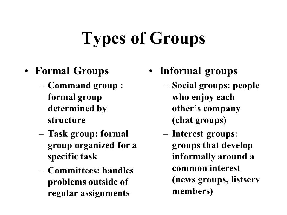 social groups and formal organization Lecture notes 8- social groups and formal organizations - free download as word doc (doc / docx), pdf file (pdf), text file (txt) or read online for free.