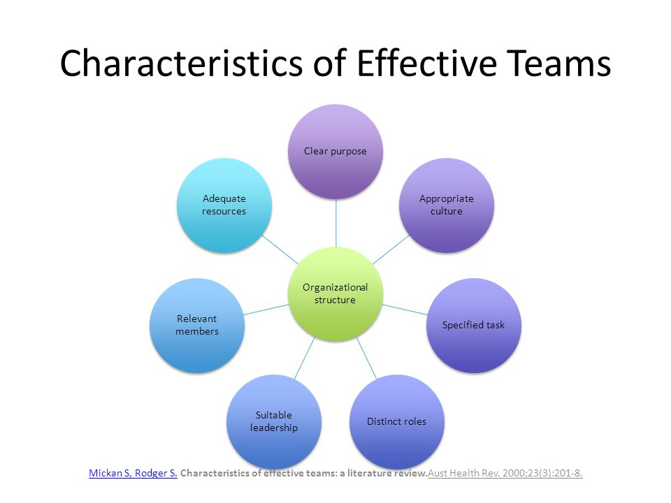 Team Building In Healthcare Setting