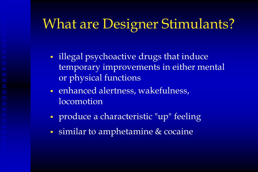 Designer Drugs – What Drug Court Practitioners Need to ...